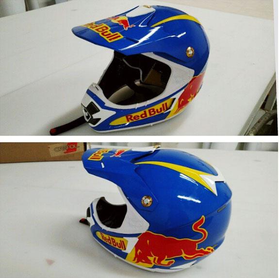 Wrap a Helmet