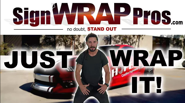 Just Wrap it!!